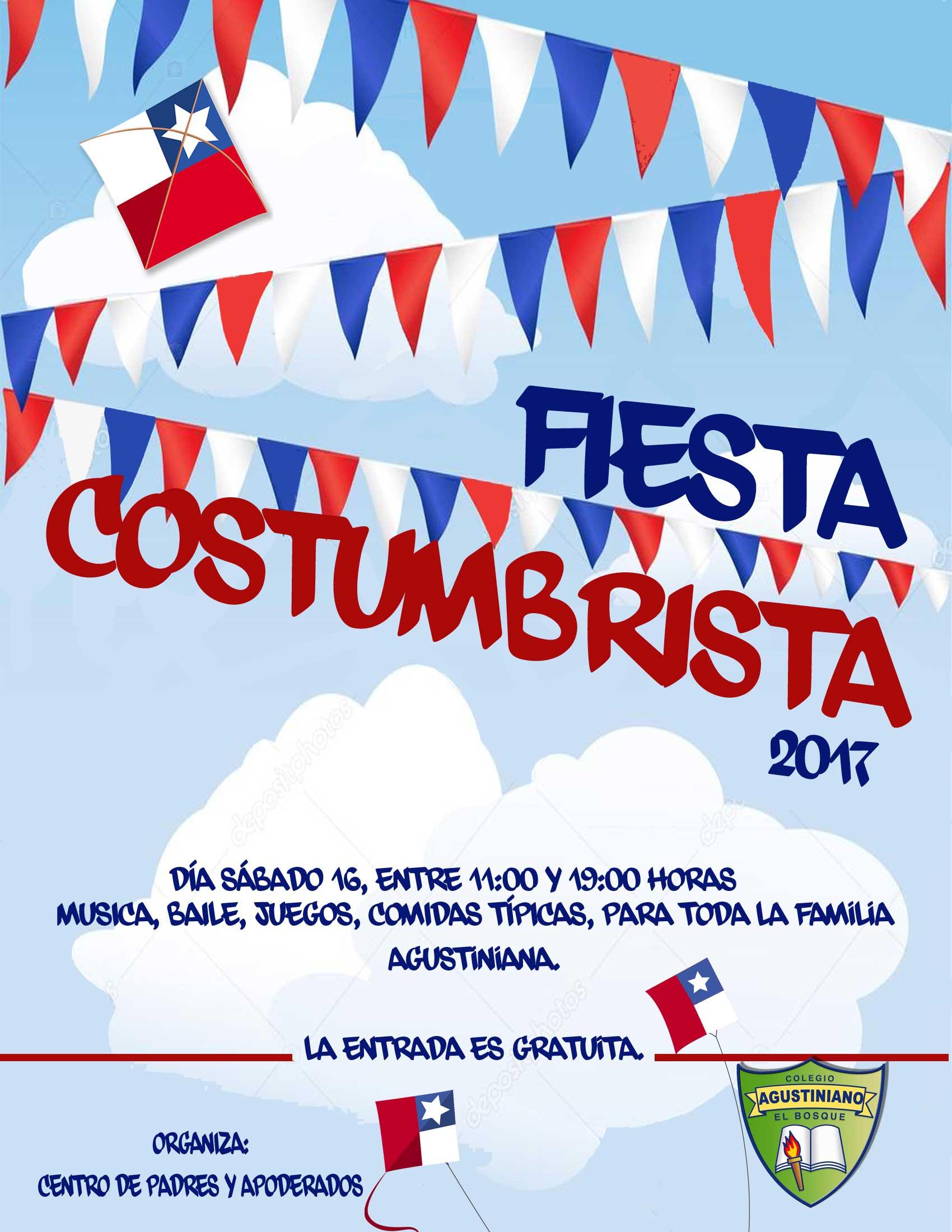 FIESTA COSTUMBRISTA 2017